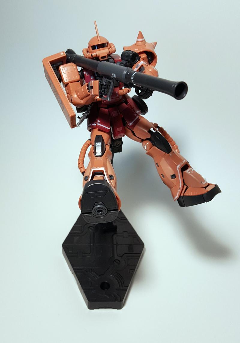 Real Grade Zaku II Char Aznable Ver. | RoboShop